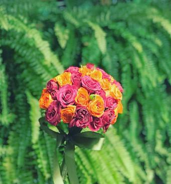 Bouquet duo color