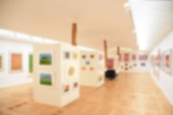 ねむの木美術館 どんぐりの内部