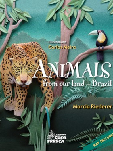 Animals from our land - Brazil (inglês)