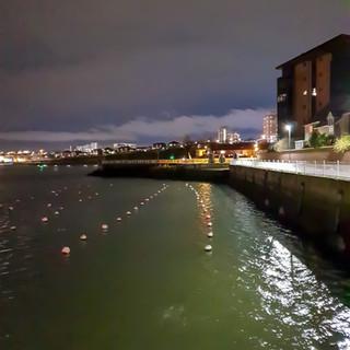 North dock by night