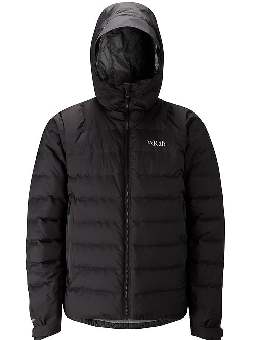 RAB BLACK/ZINC VALIANCE JACKET