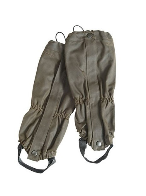 BARBOUR WAXED COTTON GAITERS