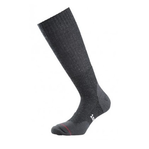 1000 MILE CHARCOAL LADIES FUSION WALKING SOCKS