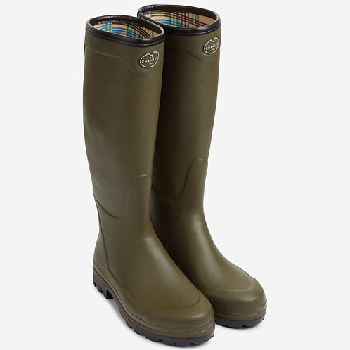 Le Chameau Vert Country Vibram Welly Boots