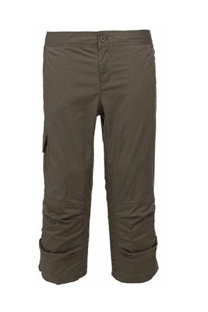 THE NORTH FACE WEIMARANER BROWN WOMEN'S BISHOP CAPRI PANTS