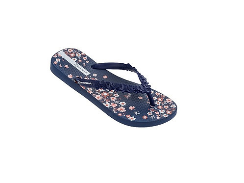 IPANEMA NAVY FASHION FLORAL FLIP FLOPS