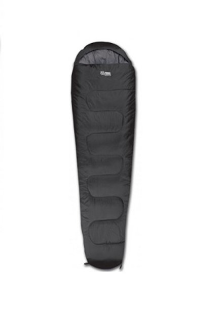 HIGHLANDER BLACK SLEEPLINE 300 MUMMY SLEEPING BAG