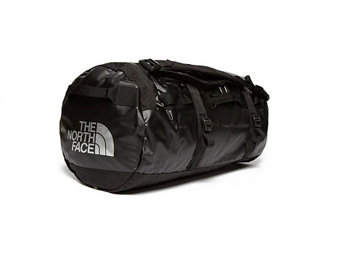 THE NORTH FACE BLACK LARGE BASE CAMP DUFFEL BAG