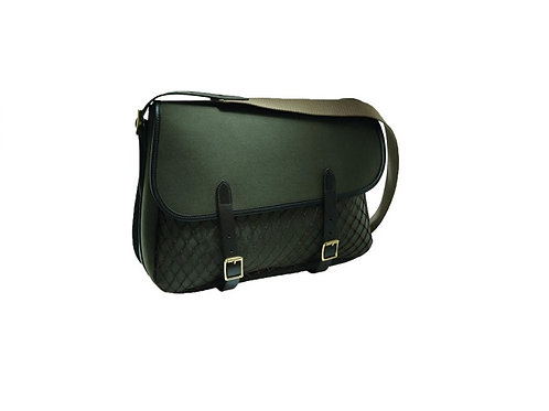 CROOTS GREEN ROSEDALE CANVAS GAME BAG