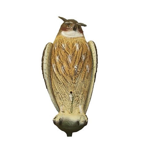 BISLEY EAGLE OWL DECOY WITH BEATING WINGS