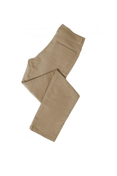 HOGGS OF FIFE STONE LOW RISE STRETCH MOLESKIN JEANS