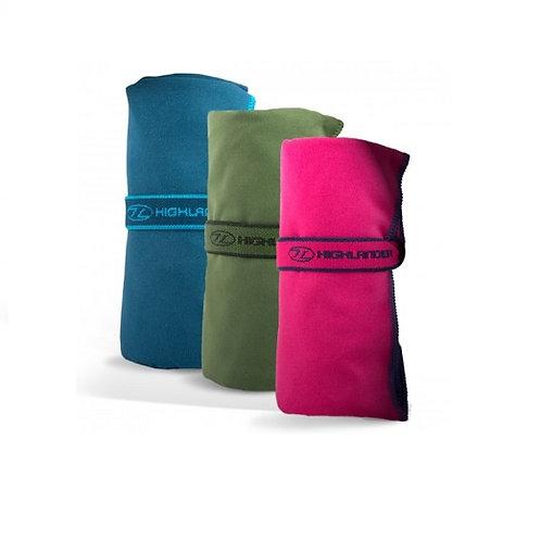HIGHLANDER PINK FIBRE SOFT TRAVEL TOWEL