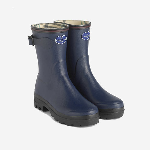 Le Chameau Blue Giverny Low Welly Boots