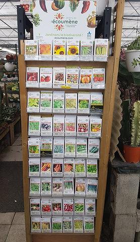 Semences Biologique: Les Jardins de l'Écoumène