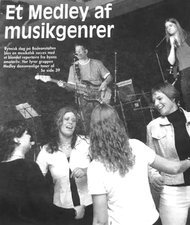 2001 - Avisklip, debutkoncert