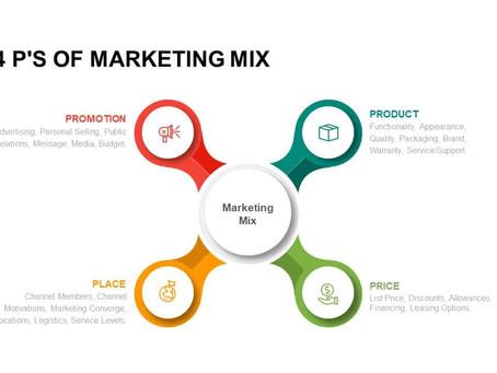 The Marketing Mix 4 P's