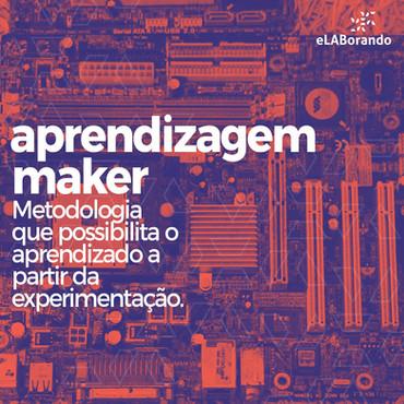 A cultura maker nos trouxe uma nova metodologia. Na aprendizagem maker o aluno pode prototipar próprias invenções com ferramentas como a impressora 3D e a cortadora de vinil. Dentro do espaço o conhecimento é utilizado para desenvolver ideias, fazer testes e reparar erros.