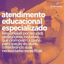 O AEE (atendimento educacional especializado) deve complementar o processo de escolarização dos alunos. Trata-se de um serviço da educação inclusiva, que deve integrar o projeto político pedagógico da escola e envolver toda a comunidade escolar.