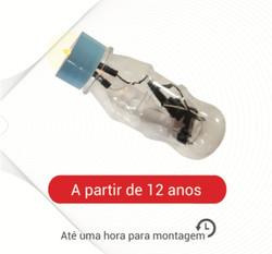 LANTERNA COM BOTÃO LIGA-DESLIGA