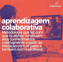 A Aprendizagem Colaborativa é potencializada pela tecnologia. Através de redes de compartilhamento, como a internet, os alunos podem interagir, compartilhar informações e construir trabalhos de forma colaborativa, ultrapassando as barreiras de tempo e espaço.