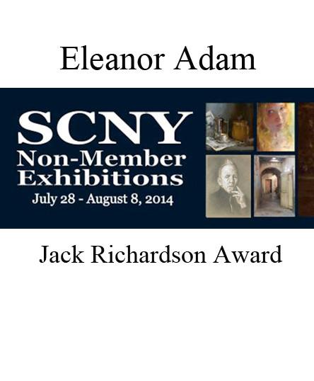 "Elenor Adam won the Jack Richardson award for ""The Observer"""
