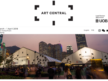 Art Central in Hong kong