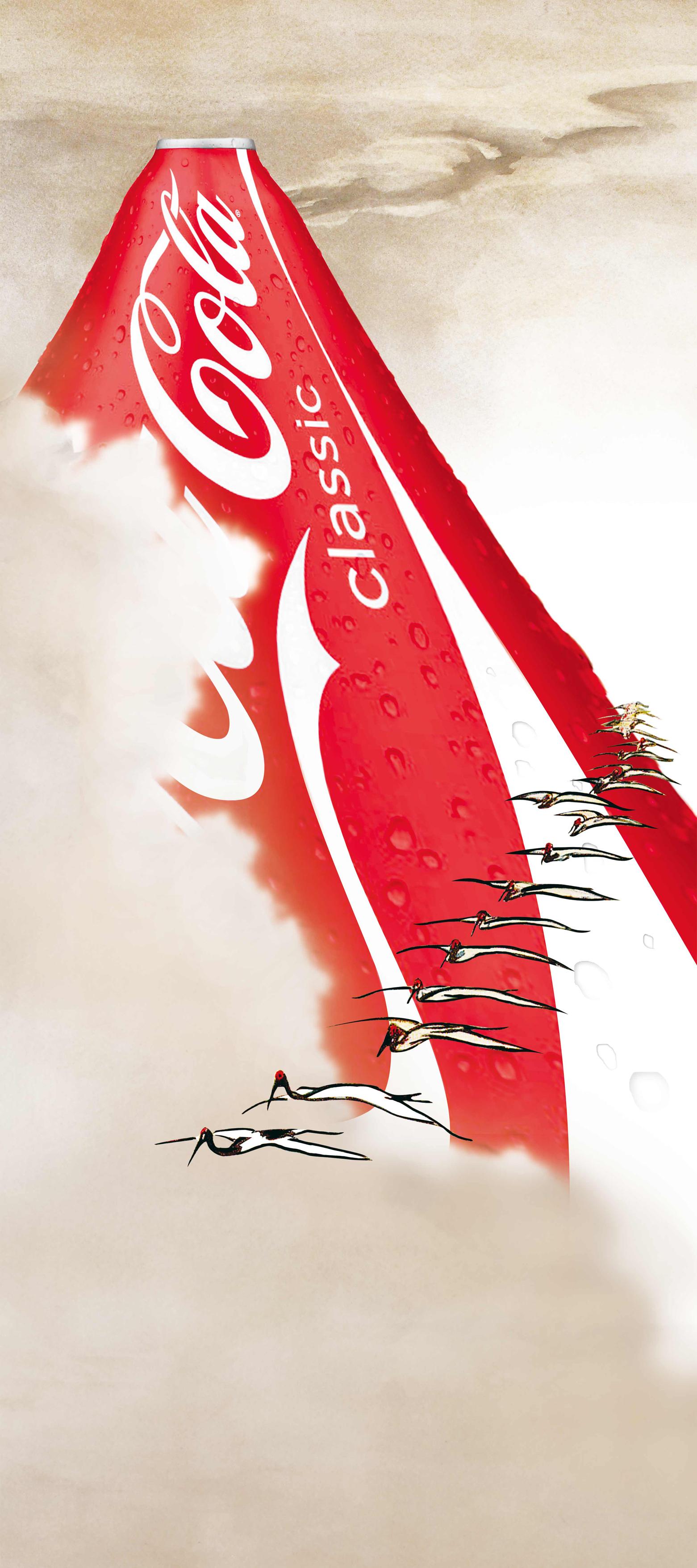 Alex Adam Gallery_Peter MacMillan(Seisai)_Coke fuji_2012_Mixed media_(W) 58cm (H) 78cm_$1080