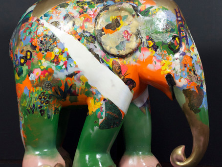 Participating in Elephant Parade India - set to launch in Mumbai in February 2018.