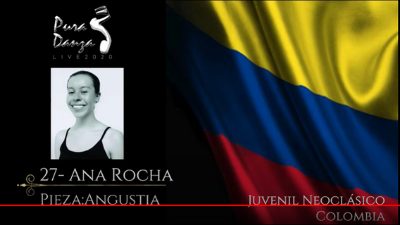 PURA DANZA INTERNACIONAL / 2020       VENEZUELA / NEO-CLÀSICO (MEDALLA PLATA)