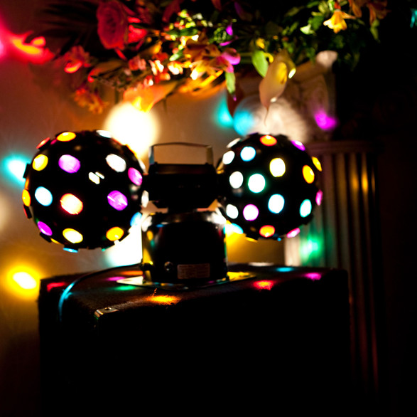 Strobe lights ready...Let's party!