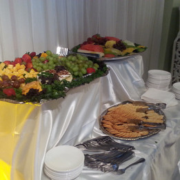 Fruit & Cheese Trays