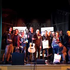 3-11-2017 concerto al 'Six Bars Jail' Serpiolle (FI)