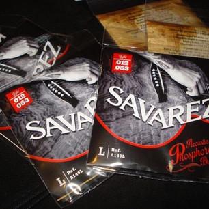 Le mie corde: Savarez Phosphore Bronze A140L .012-.053 Savarez Bronze A130L .012-.053 Savarez Alliance Cantiga 510AJ