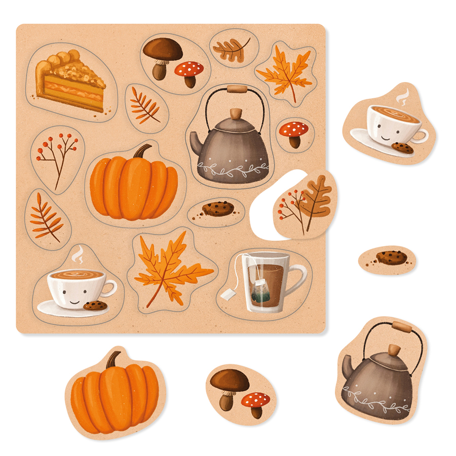 Herbst Sticker