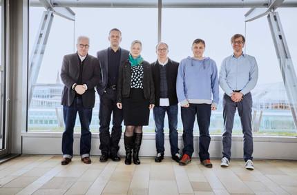 Expert Jury 2020: From left to right: Uni. Prof. Wolfgang Sattler, Tim Oelker, Veronika Eggers, Martin Fößleitner, Rainer Langer, Moritz Segers