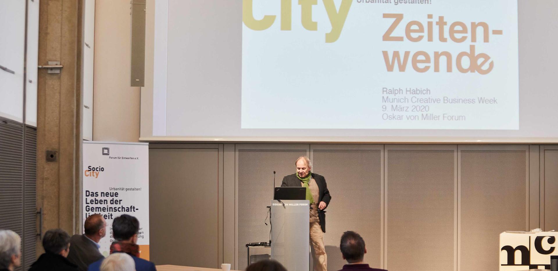 Ralph Habich, Vorsitzender Forum für Entwerfen e.V.