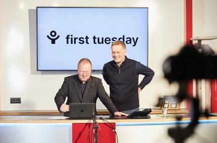 first tuesday im Rahmen der MCBW  Moderation durch Thomas Bade (Institut für Universal Design) & Tim Oelker (Tim Oelker Industrial Design)