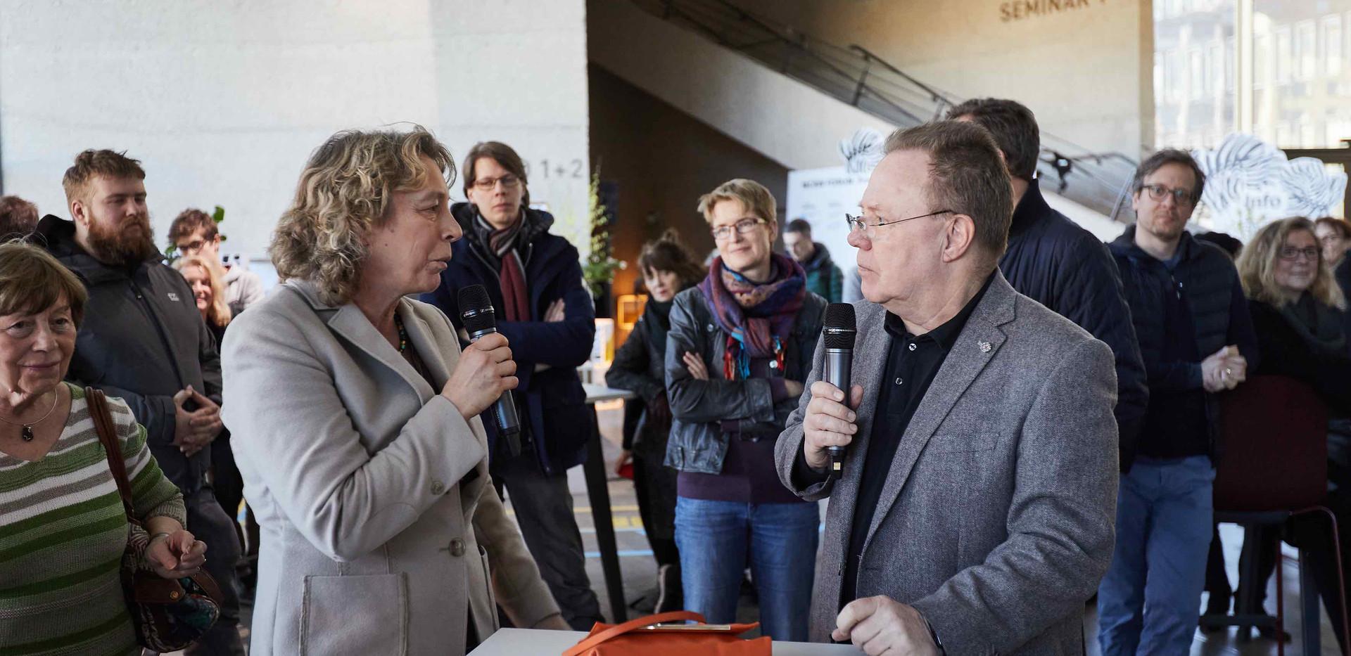 Dr. Silke Claus, Geschäftsführerin bayern  design Thomas Bade, Insitut für Universal Design
