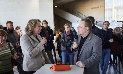 Dr. Silke Claus, managing director of bayern design Thomas Bade, Institute for Universal Design