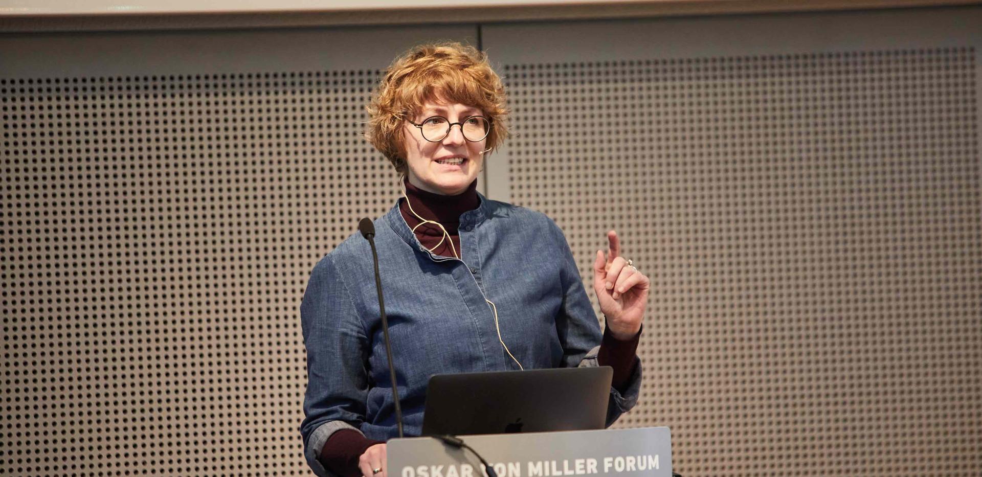 Prof. Daniela Hensel, Professorin im Studiengang Kommunikationsdesign HTW Berlin