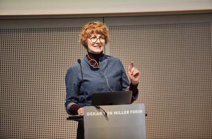 Prof. Daniela Hensel, professor in the communication design course at HTW Berlin