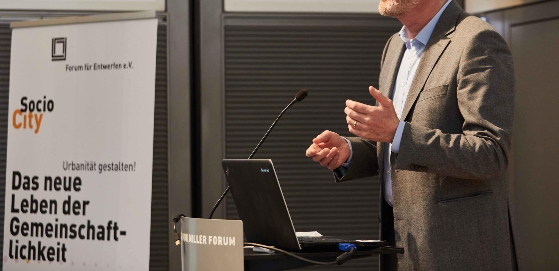 Dipl. Ing. Aleander Grünenwald, Geschäftsführender Gesellschafter Grünenwald + Heyl. Architekten