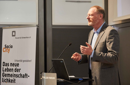 Dipl. Ing. Aleander Grünenwald, managing partner of Grünenwald + Heyl. Architects