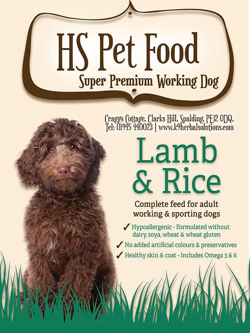 LAMB & RICE GREAT PRICE 15kg £33.99