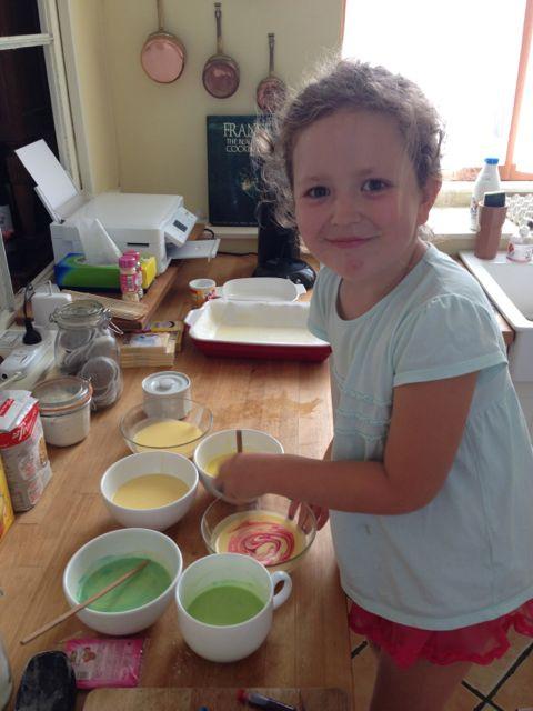 Stella making her cake .jpg