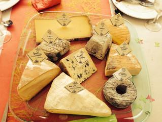 Un beau plateau de fromages!