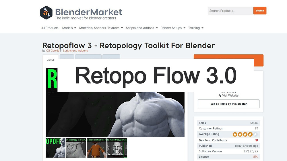 https://blendermarket.com/products/retopoflow