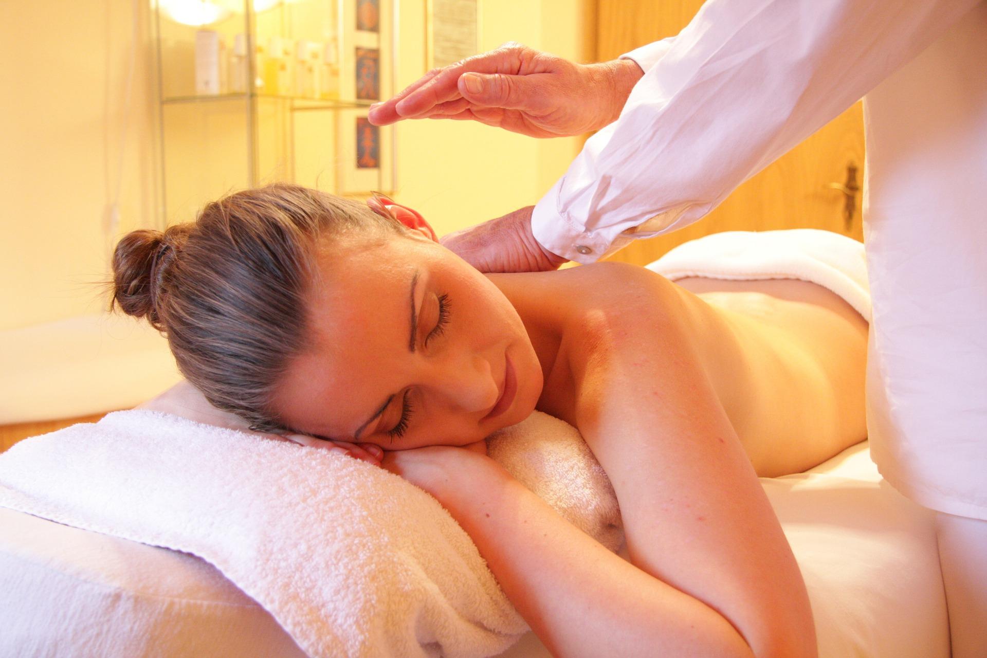 Nacken-Schulter-Massage