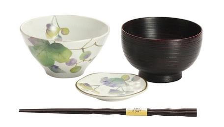 MINOWARE SATO NO YUTA BOWL AND DISH SET