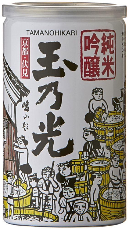 TAMANOHIKARI JUNMAI GINJO CUP SAKE 180ML